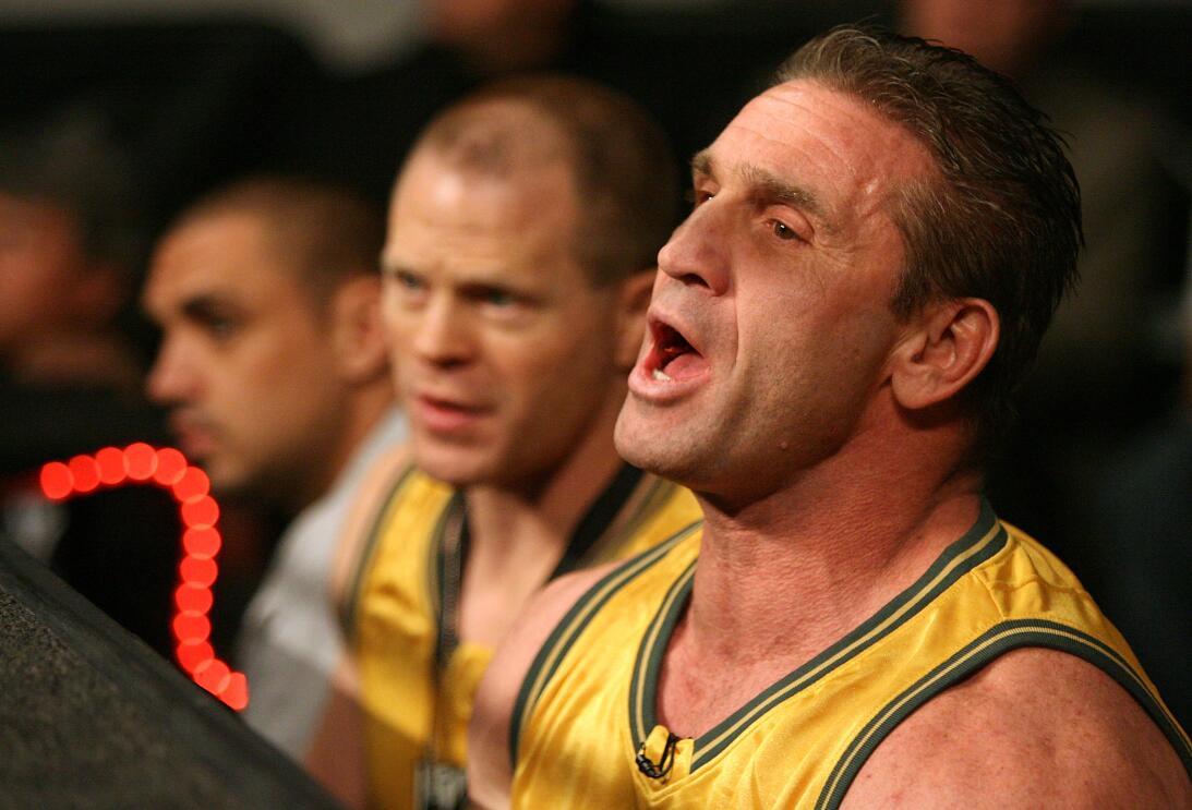 Ken Shamrock - Sus comienzos en el deporte fueron en las artes marciales...
