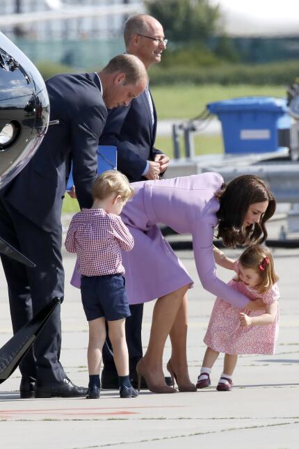 Kate Middleton y princesa Charlotte