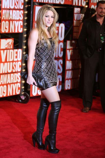 También en los premios MTV del 2009, pero celebrados en la ciudad de Nue...