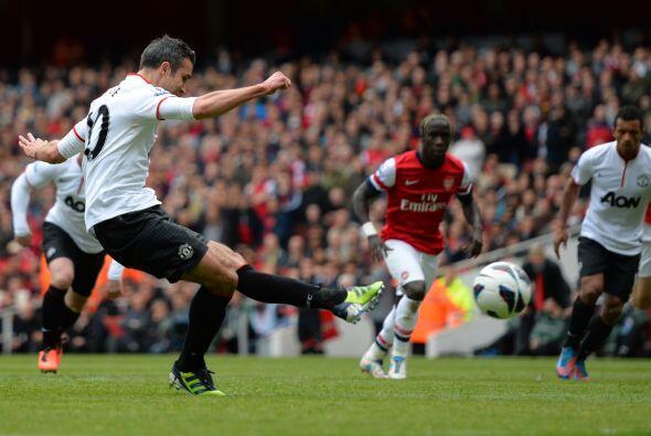 Se marcó un penalti a falta de un minuto para que concluyera la primera...