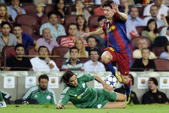 El Barcelona, uno de los favoritos al título, recibió al Panathinaikos g...