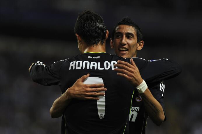 Los 'suertudos' que jugaron con Ángel Di María 3.jpg