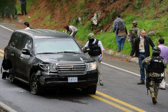 La Fiscalía mexicana confirmó el viernes que catorce policías federales...