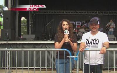 Gran ambiente en los conciertos en La Villita pese a la lluvia