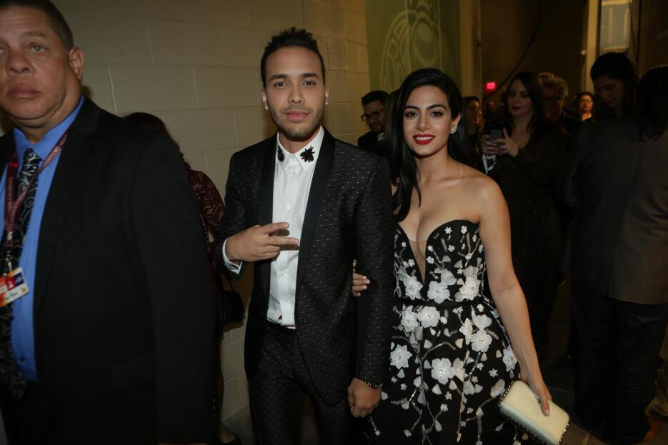 Latin GRAMMY backstage