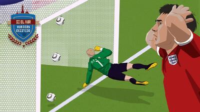 Si el VAR hubiera existido: El gol fantasma de Lampard en Sudáfrica 2010