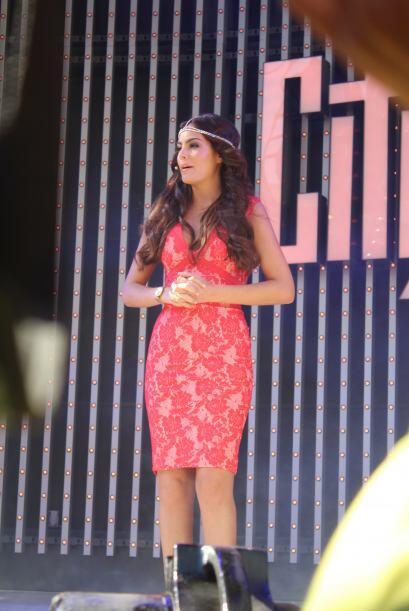 La ex Miss Universo, Ximena Navarrete, lució bella. Ella personificará a...