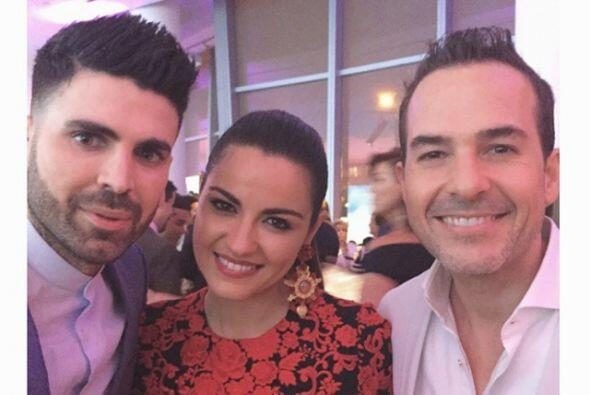 Jomari Goyso, Maite y Carlos Calderón