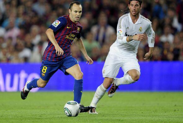 Pero el Barcelona demostró nuevamente su conjunción justo...