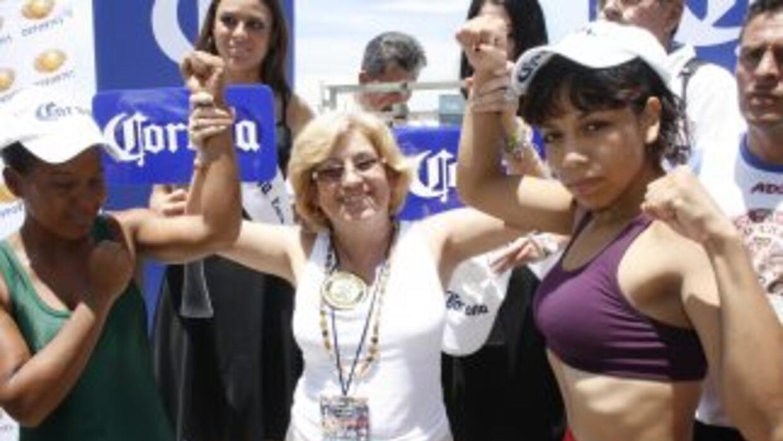 """Janeth """"cuisilla"""" Pérez y Yolis Marrugo cumplieron con la báscula (Foto:..."""
