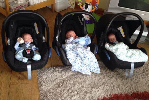 Tres bebés en el mismo vientre, que no fueron trillizos.