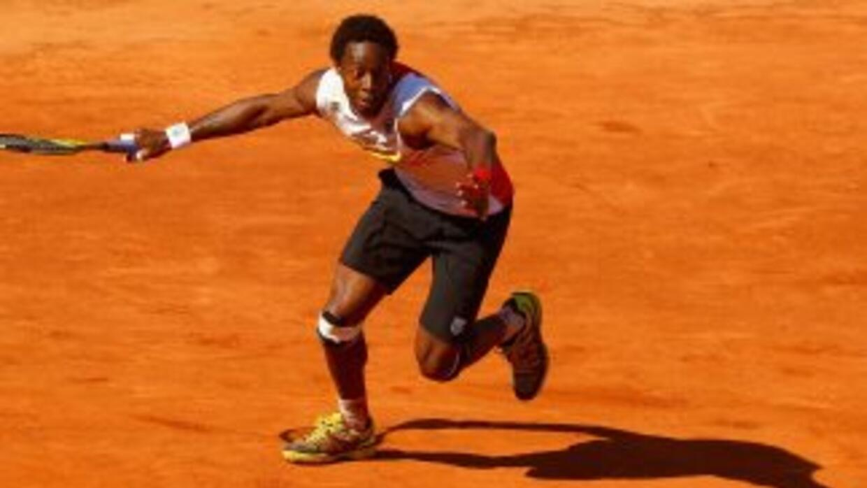 Monfils perderá la oportunidad de jugar el Grand Slam de casa, el Roland...