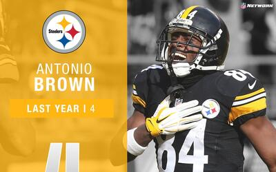 #4: Antonio Brown (WR, Steelers) | Top 100 Jugadores 2017