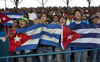 """El estadio, conocido como """"El Latino"""" fue objeto de arreglos p..."""