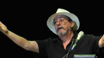 El cantautor cubano