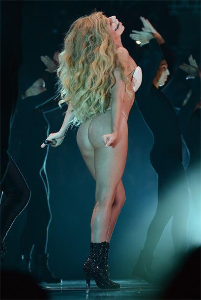 Obvio, es Lady Gaga, en los pasados MTV Video Music Awards. Mira aquí lo...