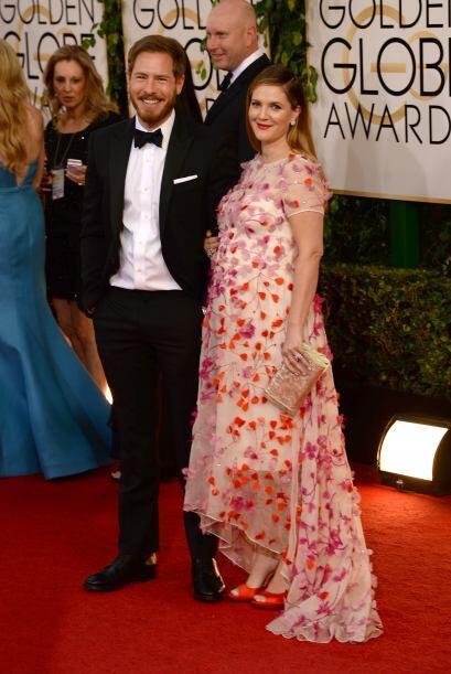 Lo peor de la elección de Drew Barrymore fue escoger un vestido con ese...