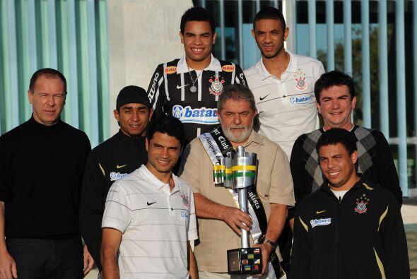 Lula reveló que es aficionado del Corinthians desde hace 56 años, cuando...