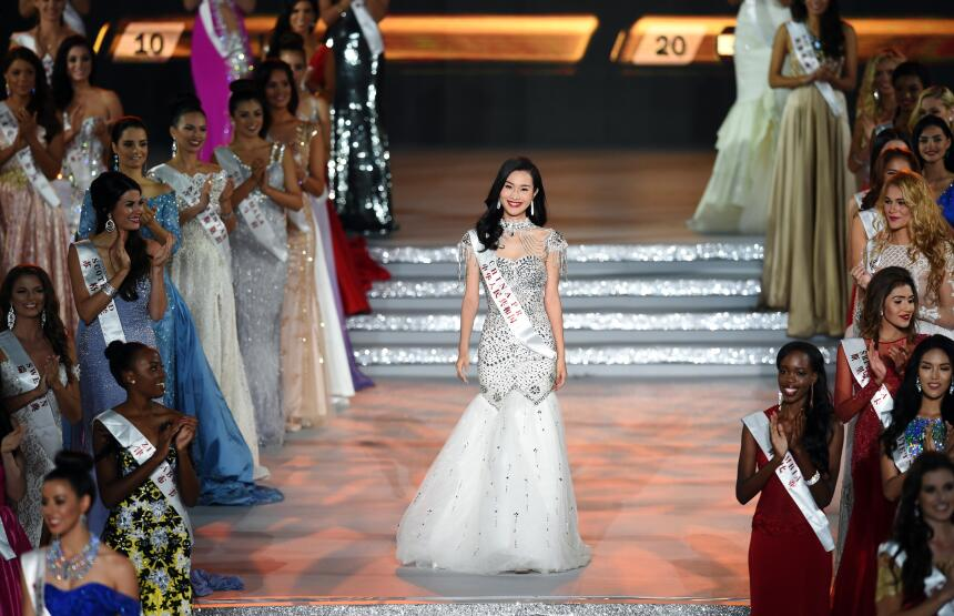 Fotos del certamen Miss Mundo 2015 en China.