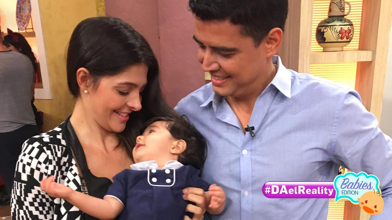 Los papis de Baby Joshua abren su corazón en #DAElReality Babies Edition