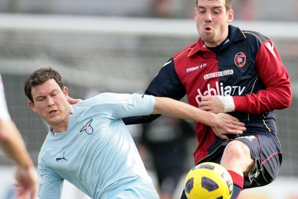 Finalmente, la Lazio fue sorprendida en su duelo en casa del Cagliari y...