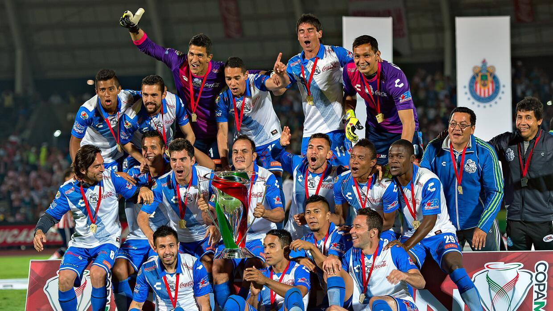 Puebla fue el campeón de la Copa MX en el Clausura 2015.