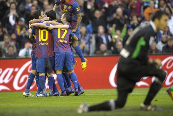 Lionel Messi sumó un tanto más a los que ya había marcado a mitad de sem...