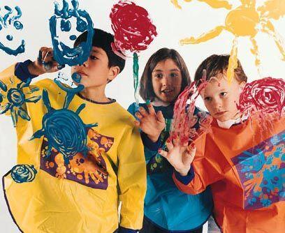 Pequeños artistasEn el Flor y Canto Summer Art Camp tus hijos pod...