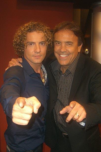 David estrenó su nuevo material discográfico con Don Francisco.