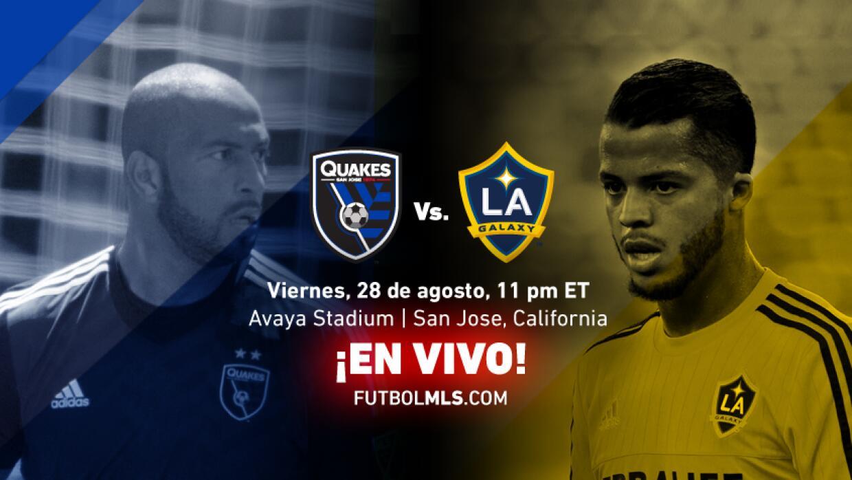 EN VIVO | San Jose Earthquakes vs LA Galaxy | California Clásico
