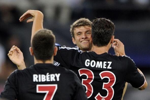 Pero eso no impidió que hubiera más goles, uno conseguido por Mario Gómez.