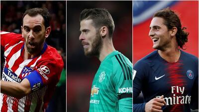 El equipo ideal de jugadores en Europa que terminan su contrato a final de temporada
