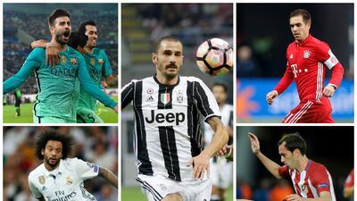 Las murallas defensivas más fuertes del mundo del fútbol