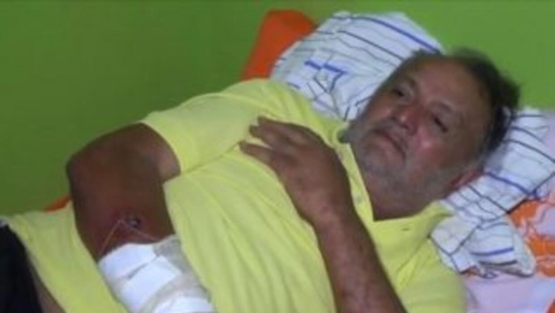 El ingeniero Gileno Vieira da Rocha, de 65 años, se internó en la selva...