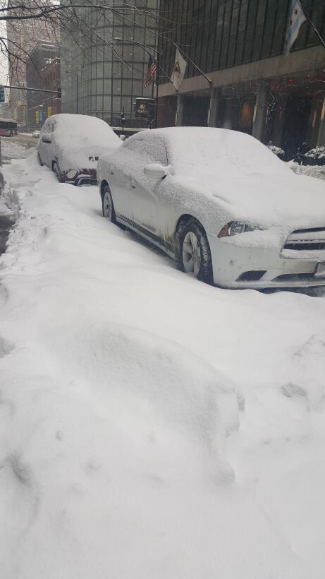 Tormenta de nieve Chicago