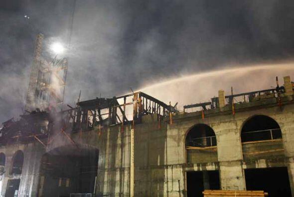 Las causas del incendio están bajo investigación y para ello el Departam...