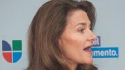 Melinda Gates en la campaña educativa Es el momento b4d46d06838a4e71b105...