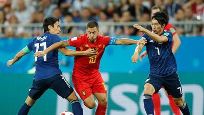 En fotos: Eden Hazard, el jugador del partido ante Japón