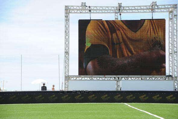La selección de fútbol de Brasil presentó en R&iacu...