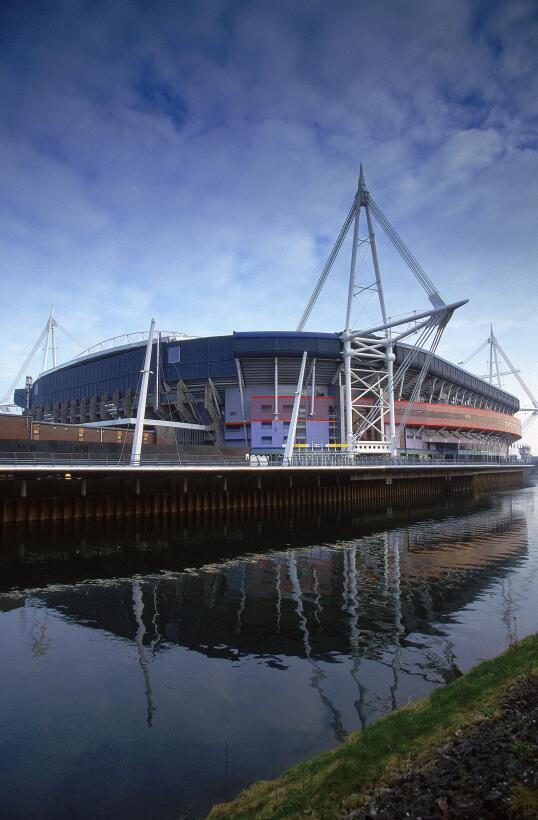 El Millennium Stadium, de Cardiff, donde se jugará la final de la Champi...