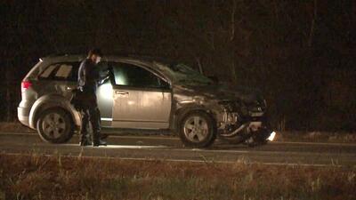 Un jinete y su caballo murieron tras choque con el auto de una familia que venía del hospital con un recién nacido