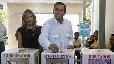 Eugenio Hernández, ex gobernador del estado de Tamaulipas.