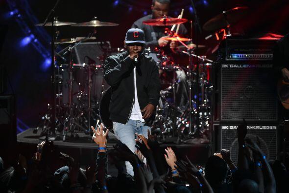 El momento de rap corrió a cargo de Lamar Kendric.