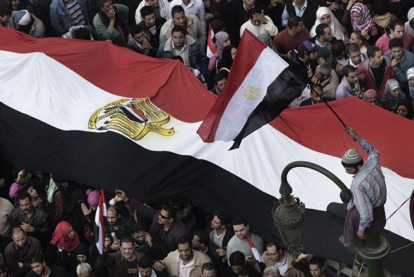 Las protestas en el país no pararon hasta el 24 de febrero.