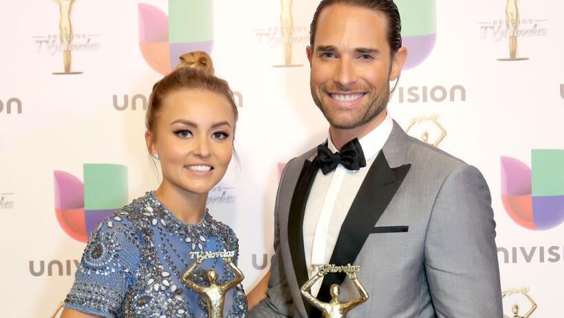 Angelique Boyer y Sebastián Rulli ganadores Premios TVyNovelas 2017