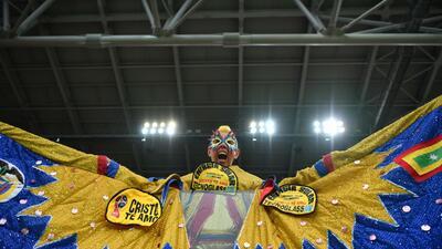 La ilusión vuela entre los hinchas en el duelo entre Colombia e Inglaterra en el Mundial