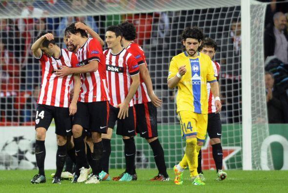 Con goles de Mikel San José y Markel Susaeta, el Athletic Club se impuso...