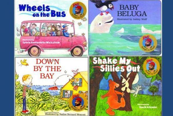 El famoso cantante de niños Raffi tiene una magnifica collecion de cuent...