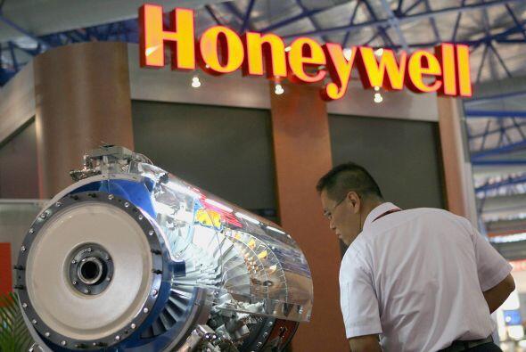 HONEYWELL- La compañía de componentes aeronáuticos reportó un beneficio...