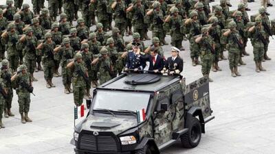 El Kitam es un vehículo desarrollado por la secretaría de la Defensa Nac...